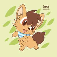 Cheerful Fox by Daieny