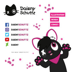 I'm Here and There! My social Media Links by Daieny