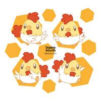 Chibi Cutie Rooster
