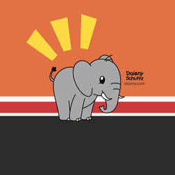 Realistic Elephante