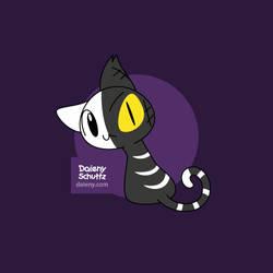 Halfedcat