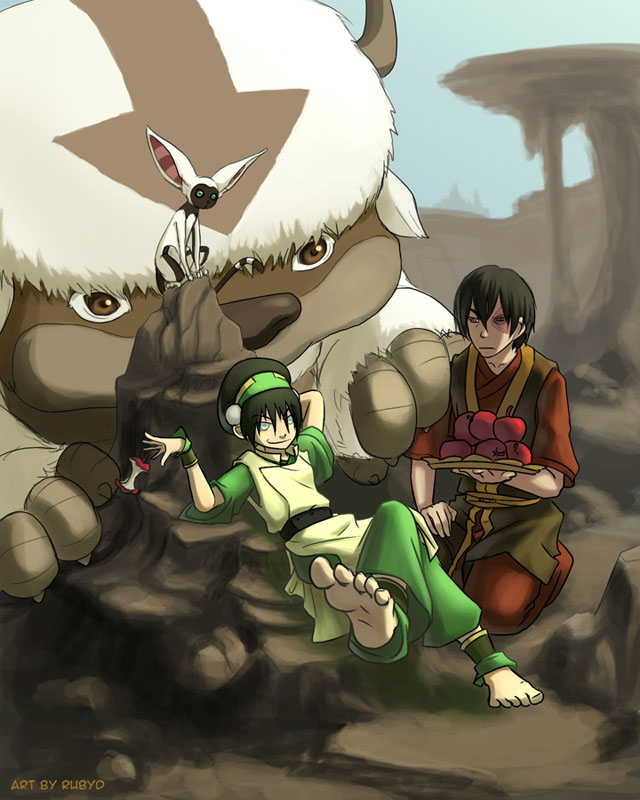 The Last Airbender Movie Appa: A Pet Zuko By Rubyd On DeviantArt