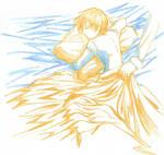 Bed rest - Hisoka