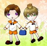 Off to school - Tsusoka