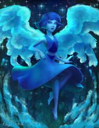 Lapis Lazuli Rising by rubyd