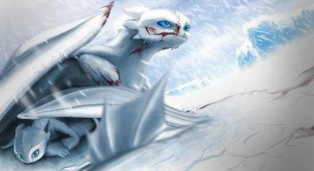 When you can't see - Frost Fury (fury sub-species)