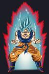 Goku Super Saiyan Blue Kaio Ken