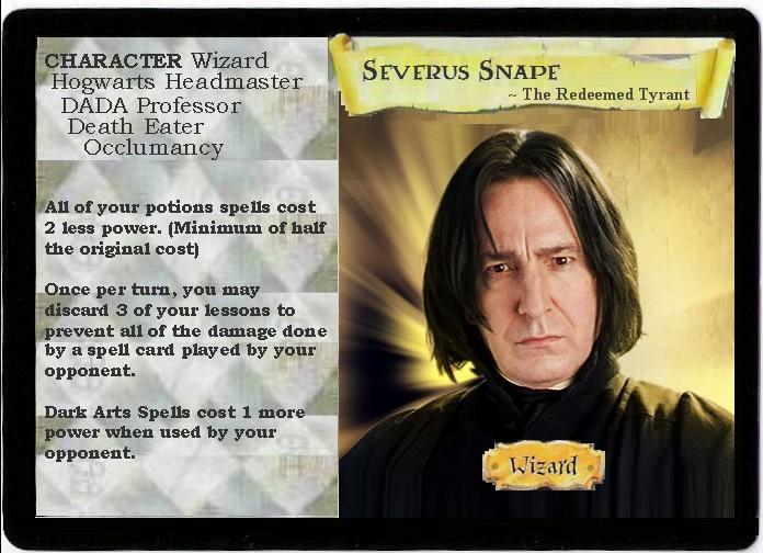 Images insolites H_P__TCG_Severus_Snape_by_FlowersInMidgar