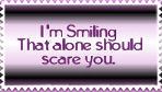Smiling stamp by M-I-R-I-E-L
