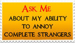Ask Me stamp by M-I-R-I-E-L