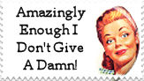 Give A Damn stamp by M-I-R-I-E-L
