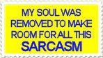 Sarcasm stamp