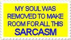 Sarcasm stamp by M-I-R-I-E-L