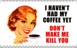 No Coffee stamp by M-I-R-I-E-L
