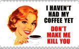 No Coffee stamp by M-I-R-I-E-L