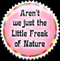 Freak stamp by M-I-R-I-E-L