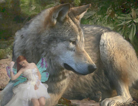 Wolf and Pixie Tales - Closeup