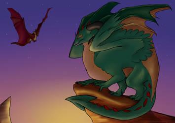 Dragons by Weredragon14