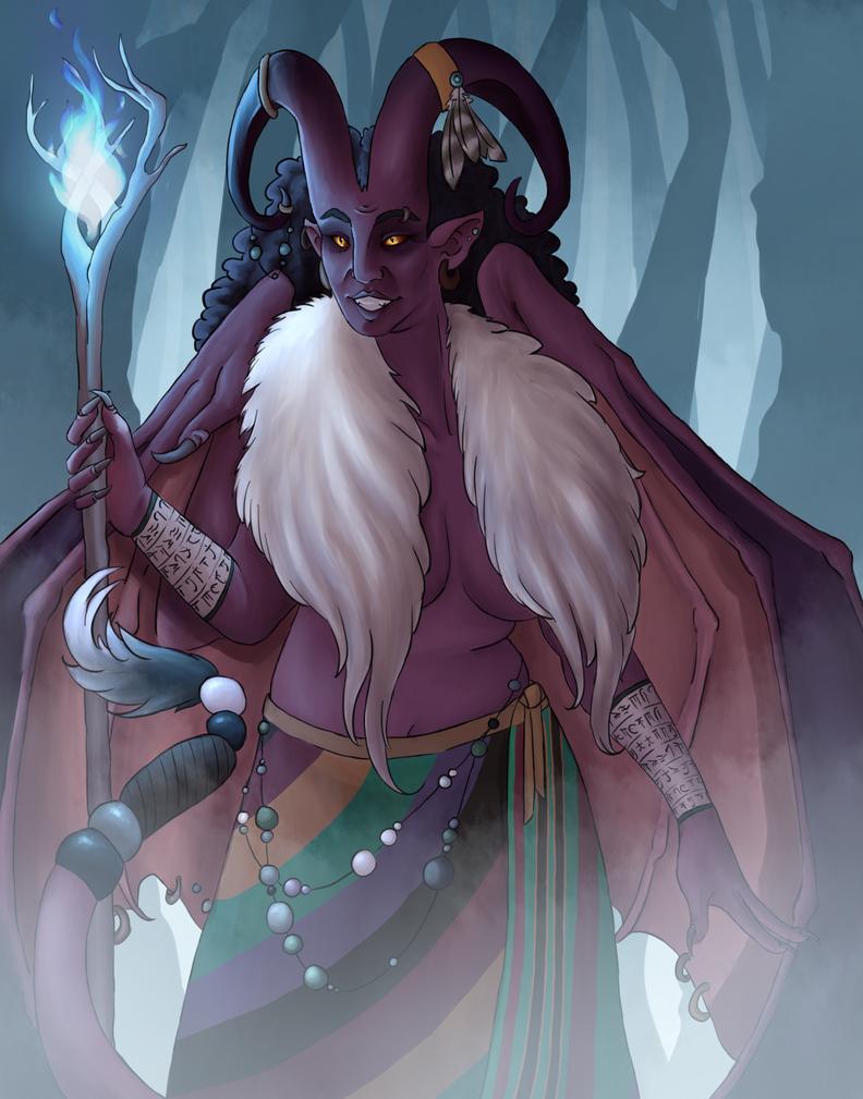 Mischa the Archdruid by Weredragon14