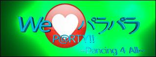 'We Love ParaPara 2' Title
