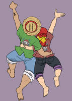 [One Piece] they be JUMPIN
