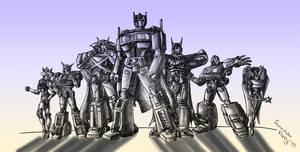 Justice league of Autobots-2