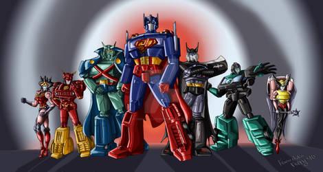 Justice league of Autobots