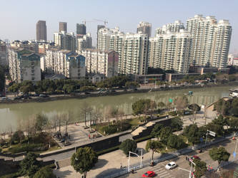 Changzhou Cityscape by andylaser1