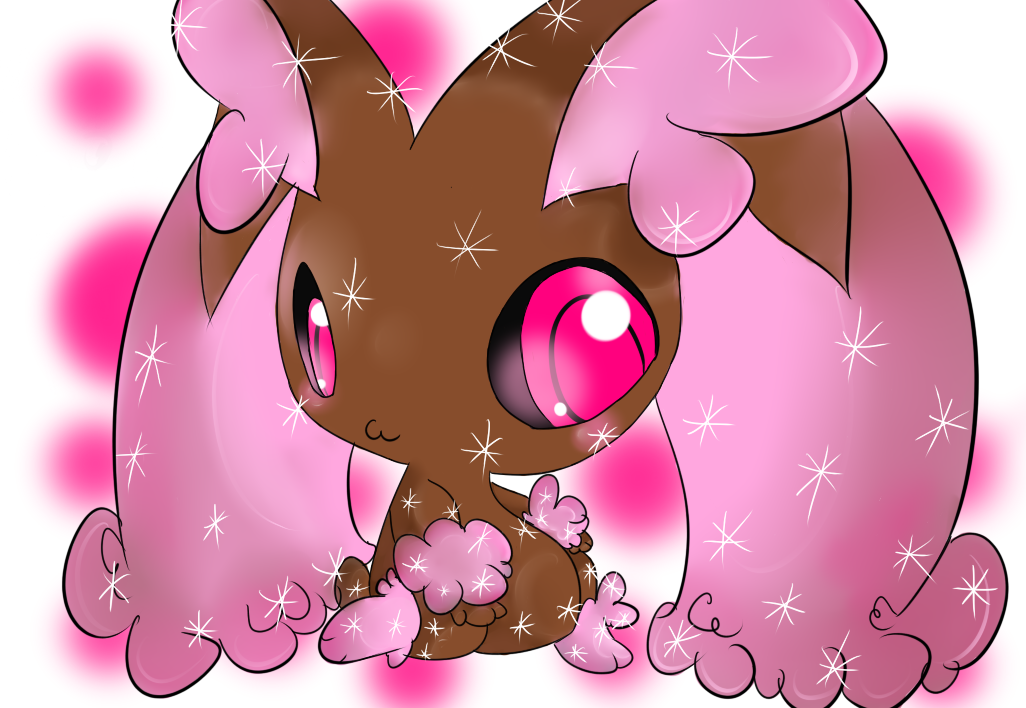 AT: aunRina - Shiny Lopunny by Chaomaster1