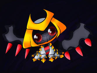 RQ: Chibi Giratina by Chaomaster1