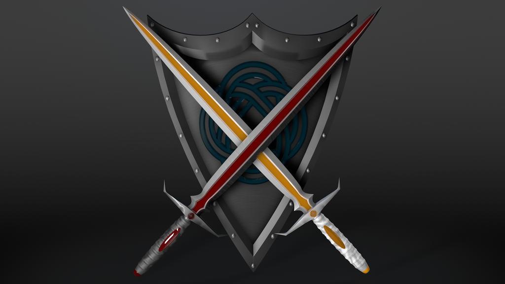 Real Crossed Swords Crossed Swords by
