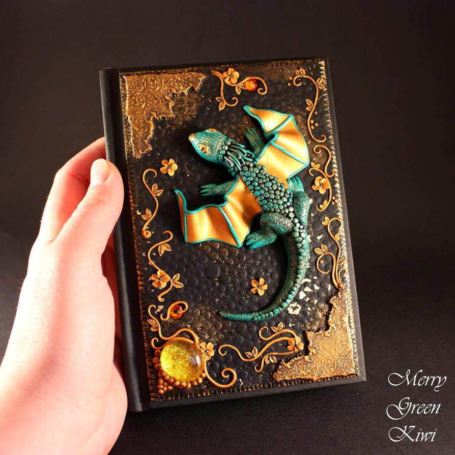 Fantastic dragon journal by MerryGreenKiwi