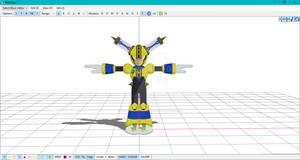 {MMD x Megaman 11} Fuseman Model WIP by ZyraTheYandereSaiyan