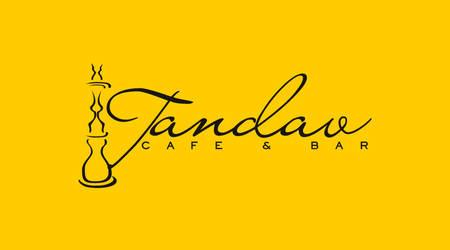 Tandav Cafe and Bar Logo Desig