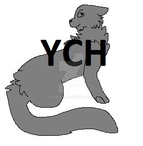 cat YCH by TyokaYuka