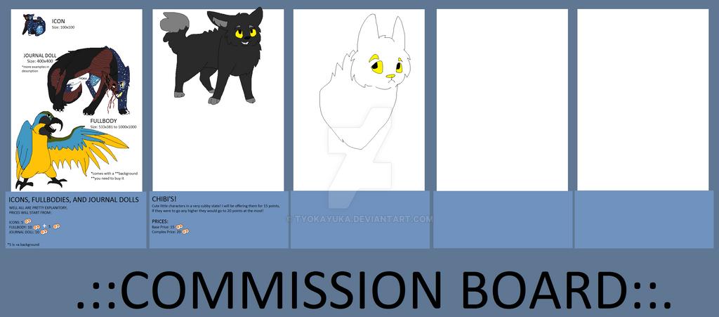 Commission Board by TyokaYuka