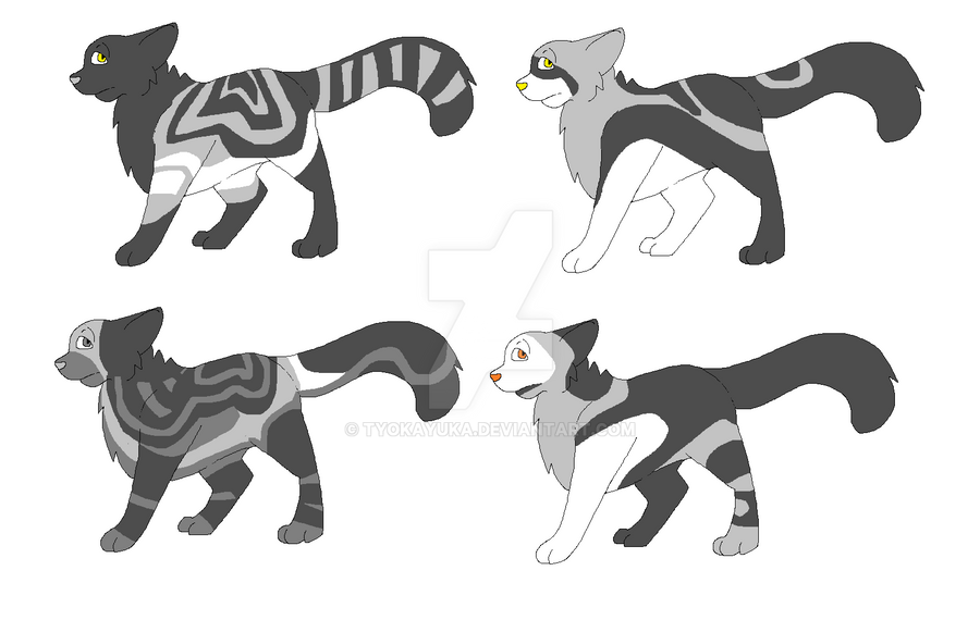 Grayscale Adopts | 20 Points! by TyokaYuka