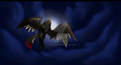 The Night Flight by TyokaYuka