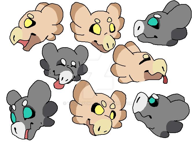 Wyngling Faces! by TyokaYuka