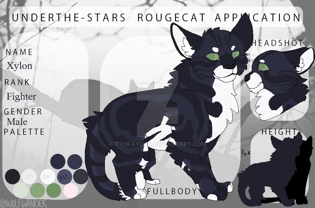 Xylon | UTS Rougecat App. | WIP by TyokaYuka