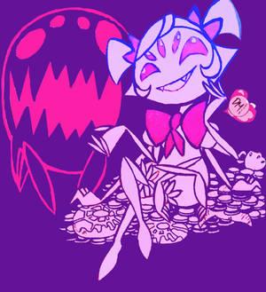 Undertale Art: Little Miss Muffet Spider Baker