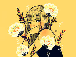 Golden Bloom by miintwo