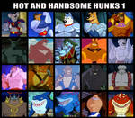 Hot And Handsome Hunks 1