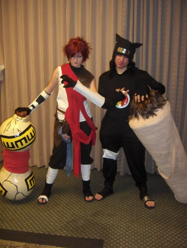 brothers gaara and kankuro by mandychan00 on DeviantArt Gaara And Kankuro Brothers