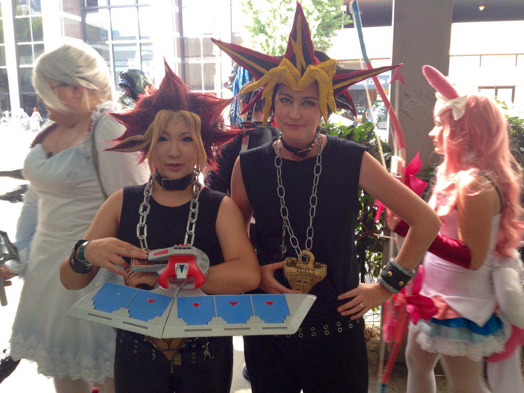 Yami and Yugi  by mandychan00
