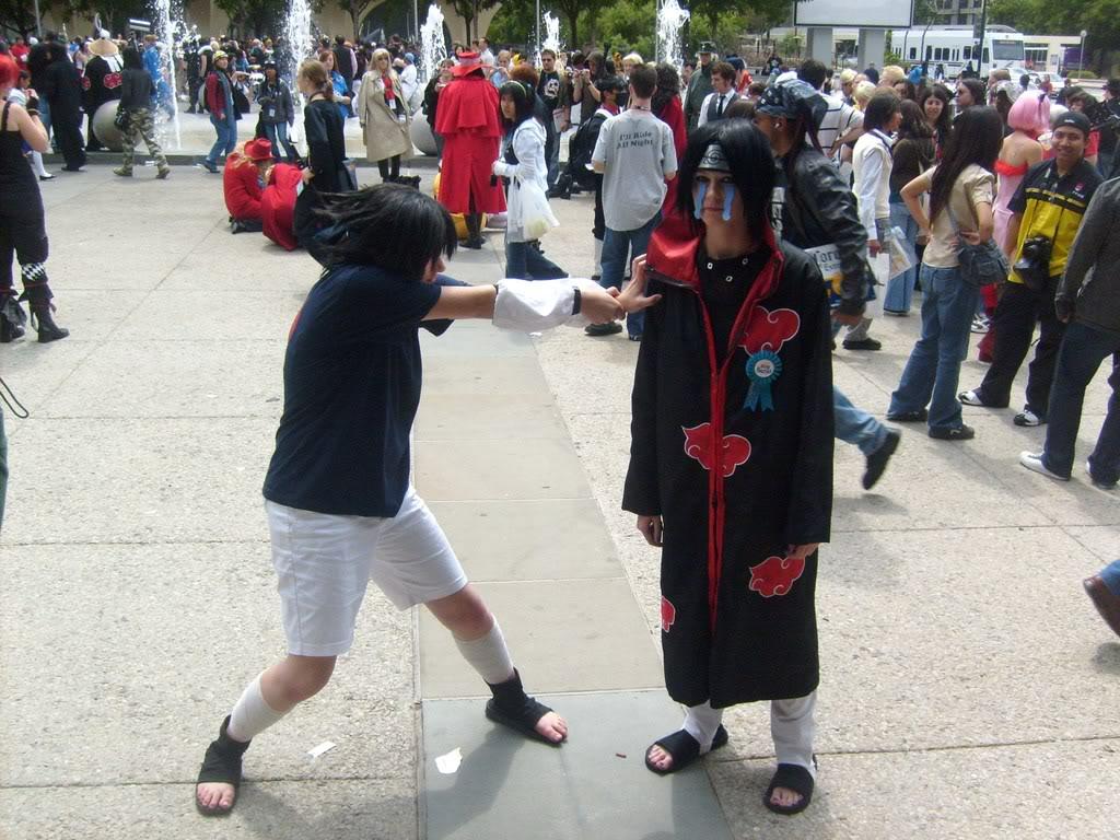 Sasuke: itachi take this Chidori by mandychan00