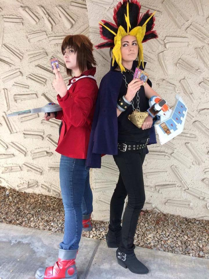 Whats your best cards Judai and Yami by mandychan00