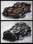 Sci-Fi Car Concepts
