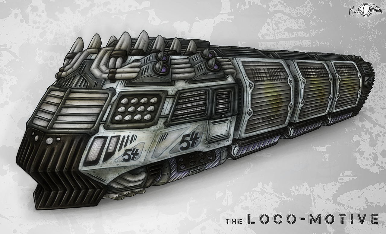 The Loco-Motive by Mark-MrHiDE-Patten
