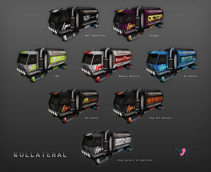 COLLATERAL - Transport Truck Skins by Mark-MrHiDE-Patten
